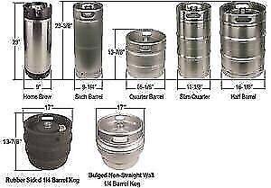 Beer kegs & corny kegs( May 28th, Sunday noon)