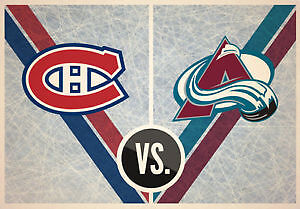 Tickets Canadians vs Avalanche Reds Section 114 Row U 7 & 8