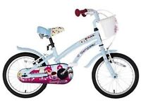 Cherry blossom kids bike