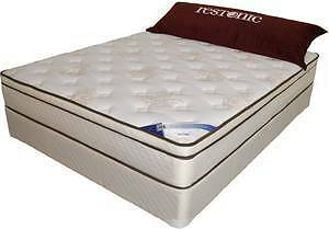 Queen 10 year guarantee mattress, Made in BC, New in bags