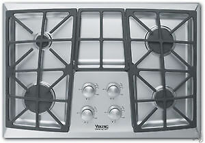 Plaque de cuisson de 30'' au gaz en Stainless, Viking
