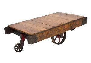 Antique Wooden Carts
