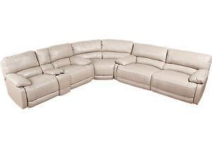 Used Leather Reclining Sofa