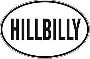 Hillbilly Decal