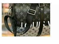 BLACK LIMITED EDITION LV HOLDALL DUFFLE TRAVEL BAG- FREE POSTAGE