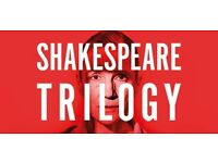 2 tickets for Julius Caesar at Donmar King's Cross on 28 October 19:30