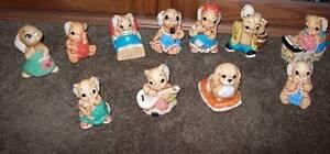 Woodlander Mereside or Pendelfin England Bunny Figurines