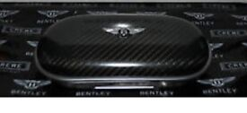 Genuine Bentley carbon fibre sunglasses case