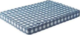 Brand New Comfy Double 4ft6 Comfy Padded Spring Mattress FREE delivery