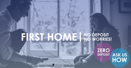 First home with ZERO deposit - no savings needed