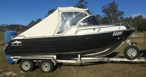 2006 Lyndcraft LC54 Runabout Registration No 34998 Kellevie Sorell Area Preview