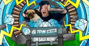 DESPERATELY Wanted DanTDM VIP ticket Melbourne Langwarrin Frankston Area Preview