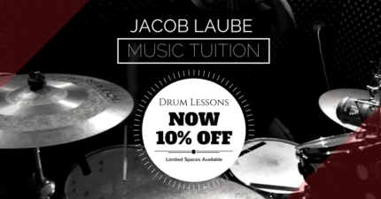 Jacob Laube: Music Tuition - DRUM DEAL