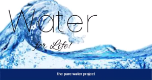 Water for life. The pure water project. Ashwood Monash Area Preview
