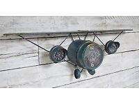Bedroom, kitchen, Aeroplane clock forsale would suit any home or childs bedroom.