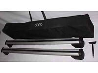 Genuine Audi Q5 Roof Bars and Carry Bag