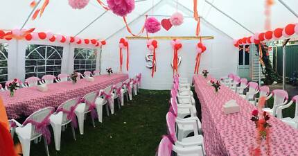 FROM 249 MARQUEE PARTY TENT HIRE BIRTHDAY BABYSHOWER WEDDING GRAD