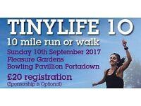 TinyLife 10 Mile Run & Walk