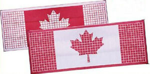 2 Sizes Reversible Canadian Flag Awning Mats