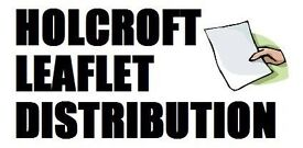 Holcroft Leaflet Distribution - ONLY £30 PER 1000 LEAFLETS DELIVERED TO ANY POSTCODE ON ANY DATE