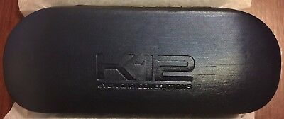 K12 Eyewear   Generations    Eyeglasses Case   Blue Metallic Wood Grain   New