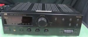JVC AM/FM Audio/Video Dolby Control Amplifier Receiver RX-518VBK