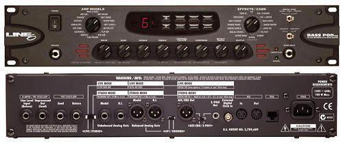 Line 6 floor pod plus guitar multi effects pedal manual
