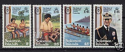 Solomon Islands 1981 Duke Of Edinburgh MNH Set