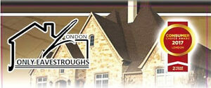 Professional Eavestrough Cleaning, Installation & Repair~From$75 London Ontario image 3