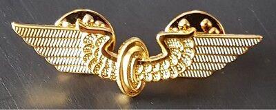 Pin/ Anstecker Flügelrad Deutsche Reichsbahn gold 4,3 cm