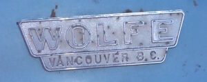 Wolfe Dealership Emblem Wanted