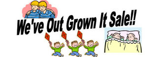 We've Out Grown It Sale