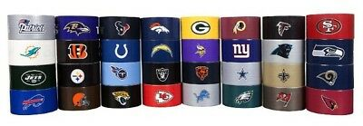 NFL National Football League Licensed Duck Brand Duct Tape Rolls! Pick your (Nfl Duct Tape)