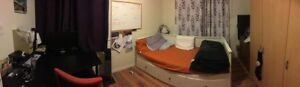 Basement Room for rent near McMaster in all girl home for $350/m