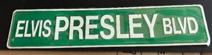 ELVIS PRESLEY BOULEVARD STREET SIGN SEALED NEW GRACELAND