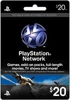 Сетевая карта $20 US PLAYSTATION NETWORK CARD PSN for PS3 & PSP FAST