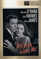 DO YOU LOVE ME (1946 Harry James) Region 2 UK compatible DVD / English cover