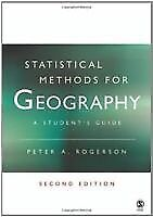 Statistical Methods for Geography (2nd Edition) -excellent condition for collection only