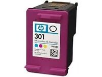 HP 301 Genuine Colour Cartridge New Sealed Optional Postage