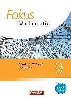 Fokus Mathematik 9  Mathematik NEU Schülerbuch9783060414925
