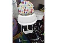 baby high chair.