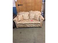 GOLD sofa bed in good condition