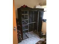 REDUCED,canvas wardrobe. £15