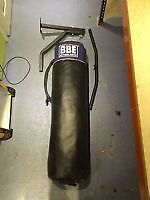 BBE Boxing Set - 4Ft Punch Bag, Wall Mount with Pull Up Bar & Mitts