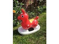 Inflatable 'Rody Horse' Children's Ride-On Rocking Horse