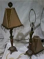 Lot of 2 Vintage Lamps w/ 33 h