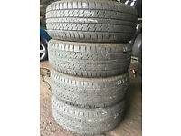 235/ 65 R17 continental contact 4 x 4 5+mm