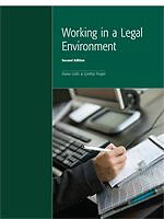 Working in a Legal Environment ~ first reply takes home!