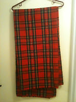 Royal Stewart Tartan - Heavy Wool Fabric for a Kilt