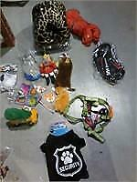Lot of 14 Asstd Dogs Toys, Leashes, Beds etc